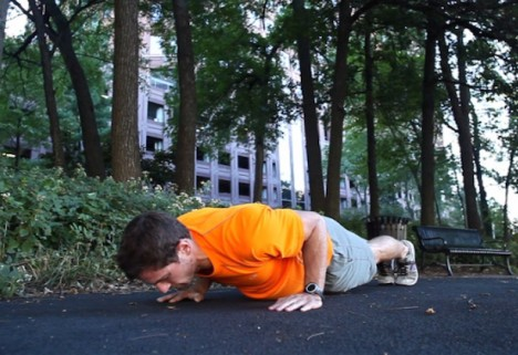 Greatist Workout of the Day: Push-Up Hold