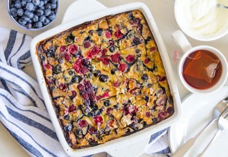 Quinoa Breakfast Bake: Feature