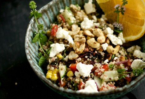 Quinoa Bowl for One