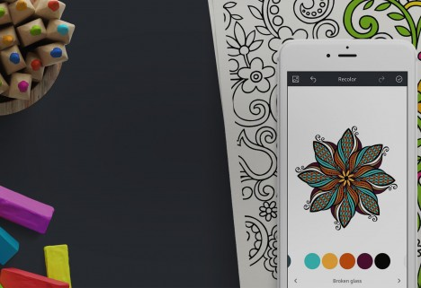 Recolor App Coloring Page