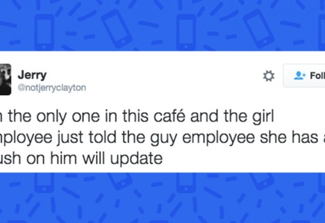 Guy Live Tweets 2 Baristas Falling in Love