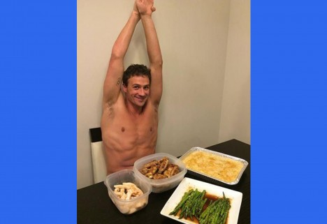 Ryan Lochte Eating
