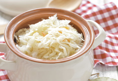 This isn't your grandma's sauerkraut.