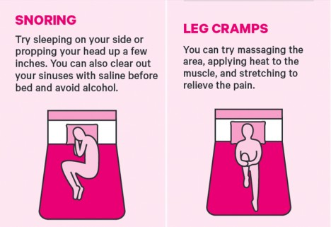This Handy Graphic Has Instant Fixes for the Most Common Sleep Problems