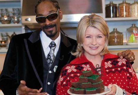 Snoop Dogg and Martha Stewart