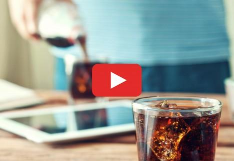 Man Pouring Soda