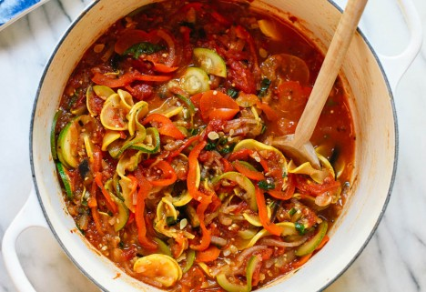 Spiralized Ratatouille Recipe