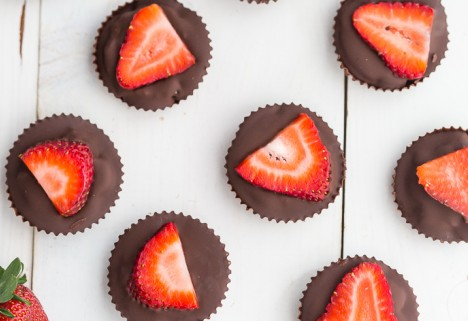 Strawberry Coconut Butter Cups
