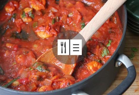 Tomato Shrimip Stew