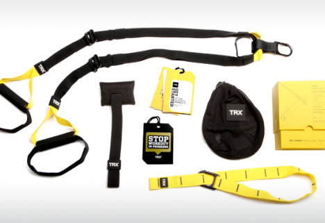Defy gravity while working out with the TRX Home Suspension Training Kit
