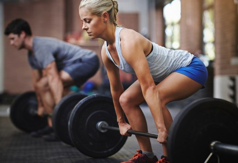 Strength Training: weight lifting