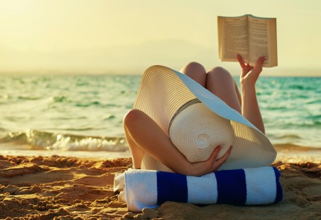Dietland: Woman Reading On the Beach