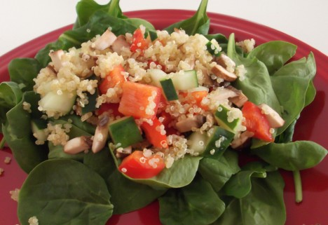 Quinoa Summer Salad