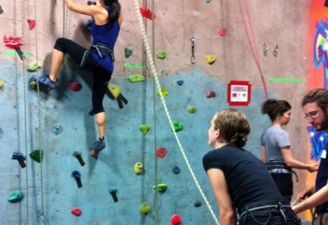 We Did It: Rock Climbing
