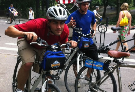 We Did It: Biking in Central Park