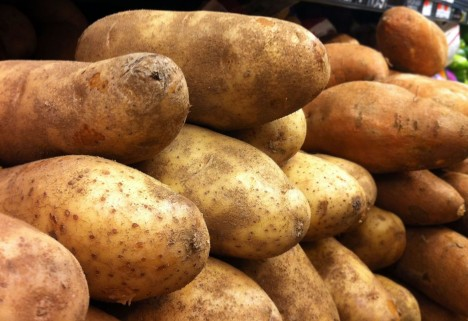 Dangerfood: Potatoes