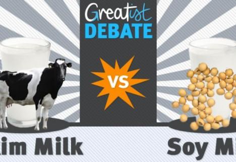 Skim Milk vs. Soy Milk: The Greatist Debate