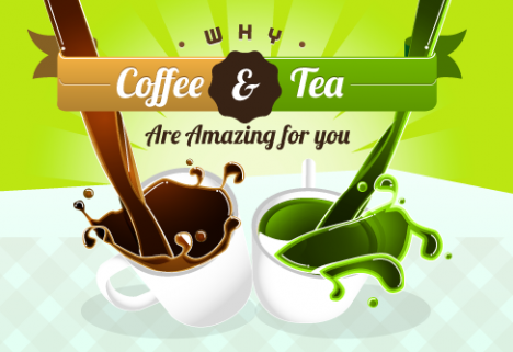 Why Coffee & Tea Are Amazing for You [INFOGRAPHIC]