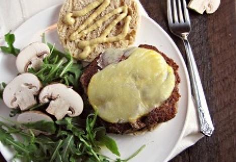 Mushroom & Olive Veggie Burgers