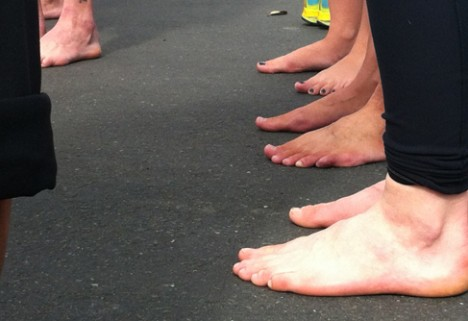Barefoot Running, From Brooklyn to Berkeley