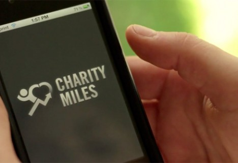 CharityMiles App Donates for Every Step You Take