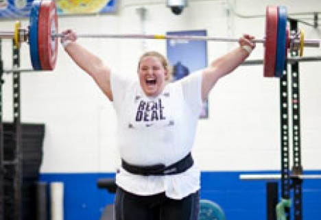 Live Like a Pro: Olympic Weightlifter Holley Mangold