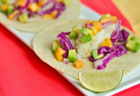 Pan-Seared Fish Tacos