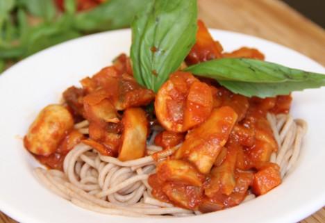 Meat-Free Mushroom Bolognese