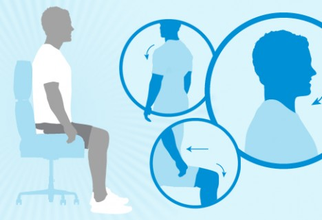 Ultimate Guide to Good Posture at Work [Infographic]