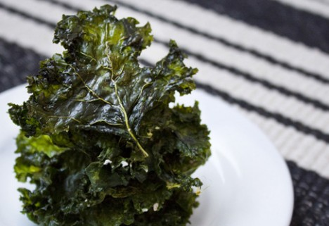 Snack Healthy By Making Crispy, Toaster-Oven Kale Chips