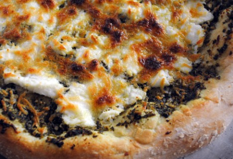 Pesto Cheese Pizza