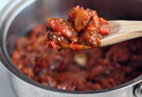 Spicy Rustic Tomato Sauce