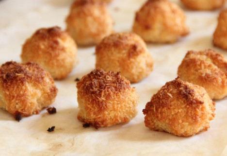 Perfectly Sweet Coconut Macaroons