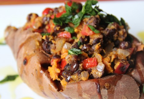 Mexican Style Sweet Potatoes