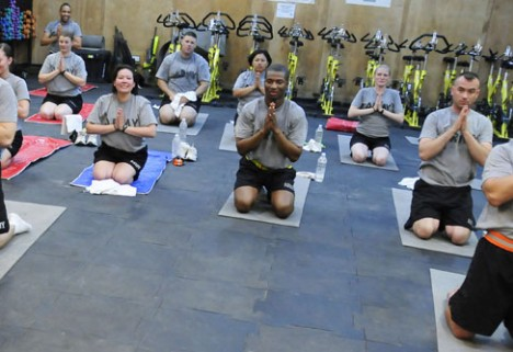 Why the Military Uses Yoga to Treat PTSD