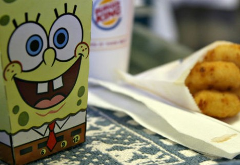 Is SpongeBob to Blame for Childhood Obesity?