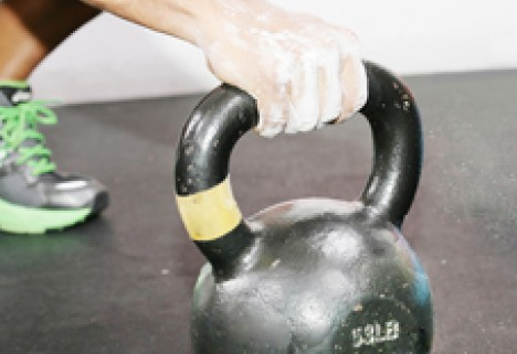 Work Several Muscles at Once with Kettlebell Swings