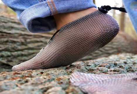 Legit Barefoot Running Shoes That Are Made from Medieval Armor
