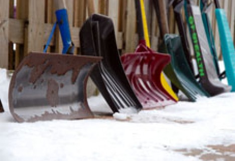 Get an Unexpected Workout By Shoveling the Sidewalk