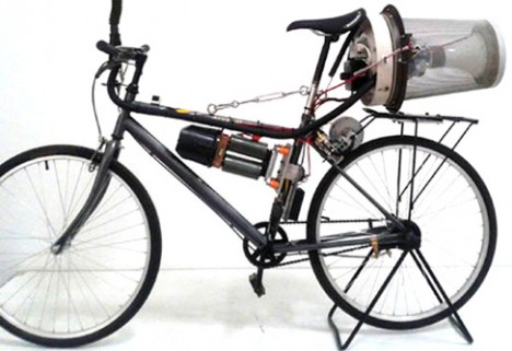 A Bike that Combats Beijing Pollution With Each Pedal