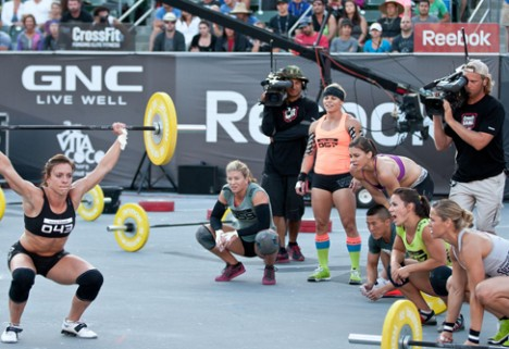 In the Gym with Christy Phillips, Elite CrossFitter