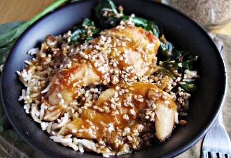 Sesame Chicken Bowl