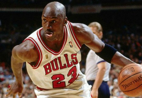 Michael Jordan Plays 1on1 with Himself, Overcomes Life's Roadblocks
