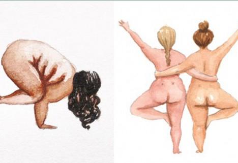 Marie Jørgensen yoga prints