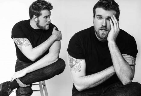 Zach Miko Plus-Size Male Model