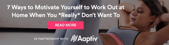 Aaptive At-Home Motivation Promo
