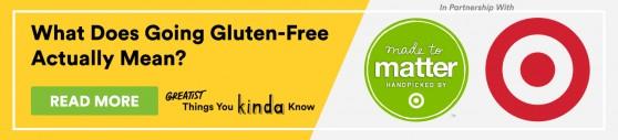 Target Gluten Free Promo