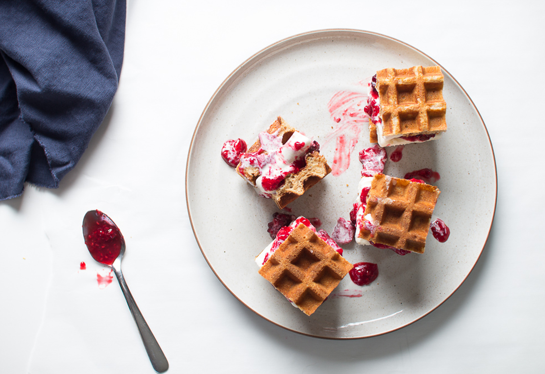 Waffle maker recipes 25 things better than just waffles greatist forumfinder Images