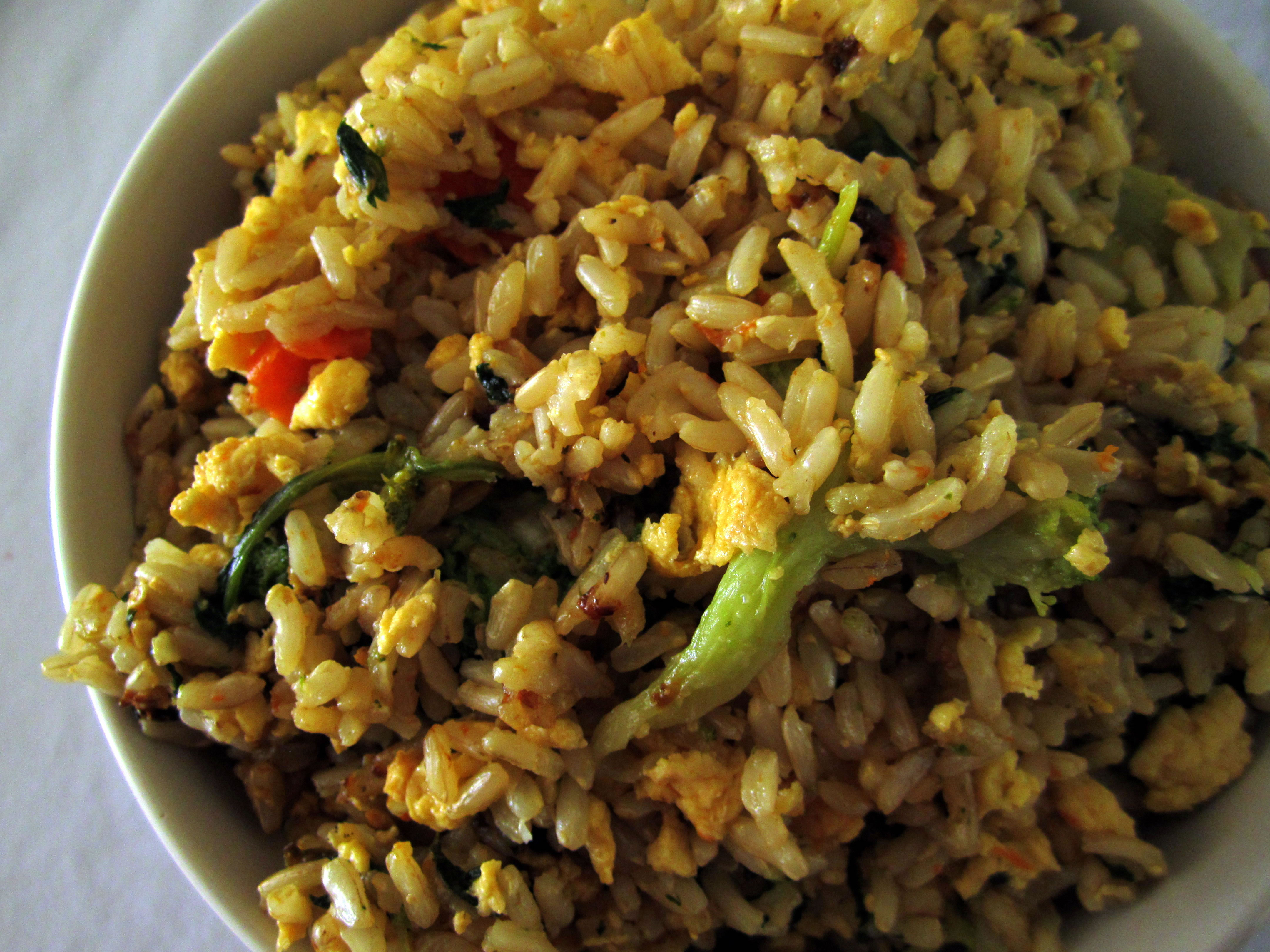 ginger fried rice not only can ginger spice up the flavor of a recipe ...