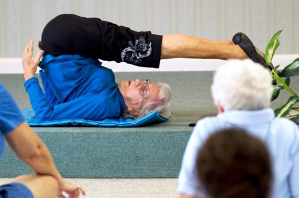 Oldest Yoga Teacher